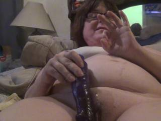 hi there! just getting off with my toy,want o join me