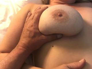 wanna cum cock smack and suck her big tits