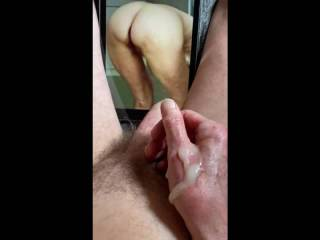 Cumming with Mrs F is always so very intense and special.