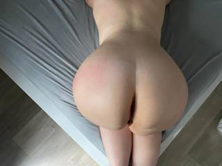 You want me like this or should I go on my back for you with my legs wide open?