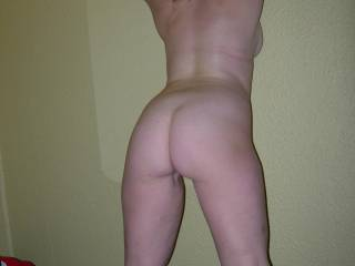 ... and I'd like to spank that beautiful arse, then bend you over the bed, and fuck you from behind... x