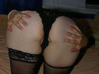 fantastic ass, I want to rub my palms around it, grab it, smack it, enjoy this fantastic ass then have you ride me reverse cowgirl so I can admire it as you bounce up and down on my cock