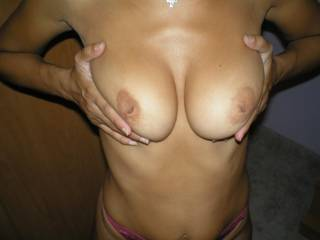 Wow sooo hot !! love my cock between those and my hand in her hot knickers, she is soo sexy