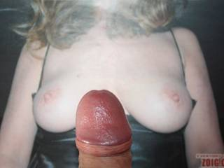 Absolutely love 1cuteflirt's titties, I am just getting primed up for her video tribute.  Sure would love to have those breasts wrapped around my hard cock!