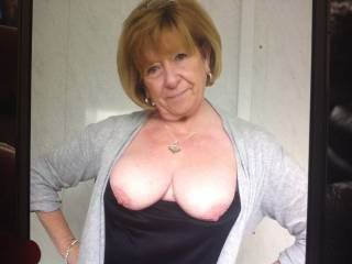 Your always hot babe, love those perfect breasts and nips, of course I would suggest you take more closes off but if I was there it would heat us both up,  MMMmmmmm