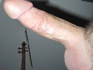 This is a picture of my cock... for the ladies :)