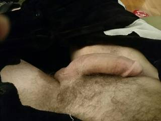 My poor dick is all tired out from cumming so hard to you hot, dirty grrls. I\'m still so horny, but the flesh is weak... Would you fluff me back up?