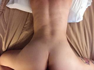Her tight pussy feels so good wrapped around my cock