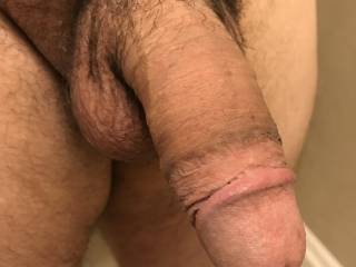 My cock is hard and ready for play time!