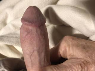 Love the feel of a stiff penis in the morning. Actually, anytime!