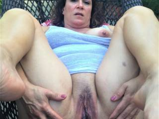 Just another boring pic of Melissa spreading her pussy open for you Zoig'ers to enjoy....