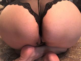 Melissa\'s big, hot ass in some new panties....do you like?