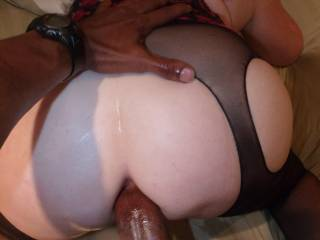I Held Her Firmly As I Drove My Massive Cock Deep Inside Her Ass