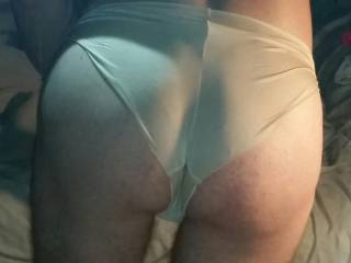 Your ass looks very sexy in them, I also like how they go up into you.