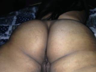 my latina's wife sexy ass  look at her pussy its tight like a clam smh