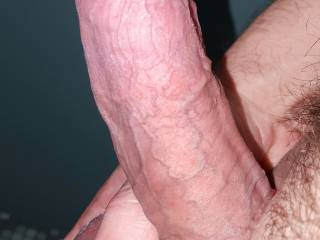 I need someone to suck on these plump balls and swollen cock head