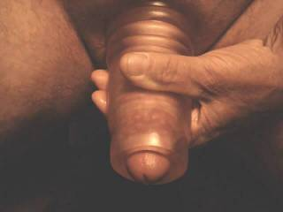 I love the feel of my head honcho toy! If u close the end and hold the base tight n stretch it it gives a great suck!