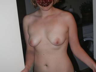 Her body looked great before and still looks great!!!! Love her tits and shaved pussy!!!!