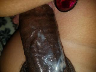 Love it when I make her pussy cream like this