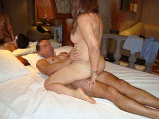 pat 63 using my friend´s cock to pleasure herself