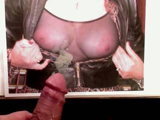 great pleasure to masturbate and cumming while watching Sally`s hot body