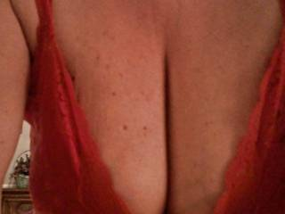 Just a little cleavage !