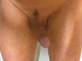 Just shaved and oiled...