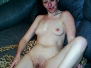 This was before she shaved her pussy, I liked it better shaved, what do you think