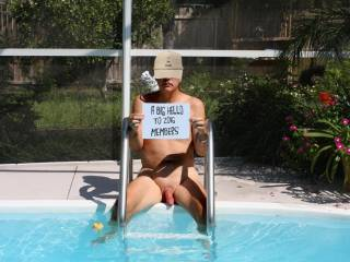 what a great set of pics man!  You sure know how to get me horny! Next time I come to Florida, I would love to swim with you!