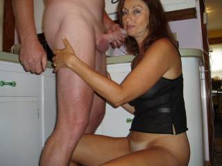 Candi Annie is just an incredible sucking talent so skillfully milking cock and loving her creamy reward!!!!