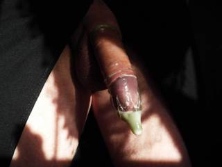 what would be hot is your womans panties filled with both your juices.