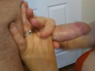 Now what should I do with this lovely cock? Watch my video for my great answer.