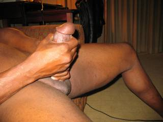 i love to watch him stroke himself...what woman in her right mind would not want to fuck this...tell me...