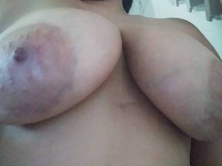 A little bounce action with my boobs want to play with them