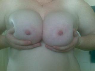 I agree very suckable then perfect for sliding my cock between and giving you a nice warm facial