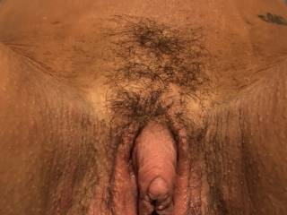 Something about seeing the cum bubbles in her hairy pussy... Do you like it too?