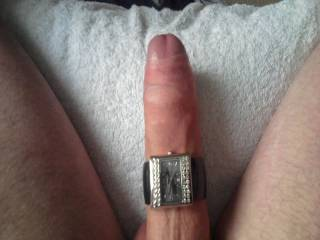 Tried on wife's watch for size
