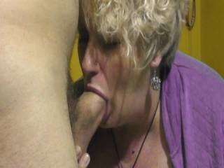 Dam that's nice I know that feels so good what a hot cock sucker she is mmmmmm
