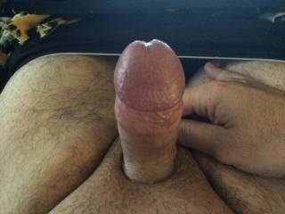 I would love to suck on it then ride it while you stroke my cock tell we both cum .