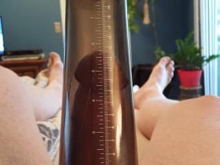 pumping up my cock before masturbation always feels better, kinda wakes it up.