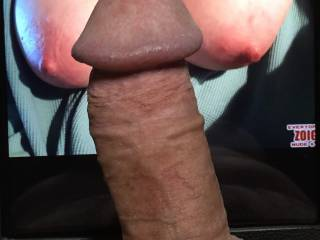 Getting ready to cum for a friend.