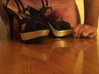 Fuck and cum in heels of my Goddess