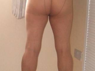 Playing around in tights