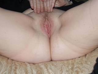 So tasty and inviting! I would love to lick your pussy till you were so wet and horny that you begged me to fill you up withy hard cock!