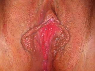 yummy pussy, love to be licking my way deep inside yr wet pussy before I thrust my throbbing cock in deep too !