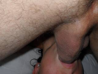 mmmmmmmm, perfect image, he really has a big and hard balls. I would love to play with his balls while you suck his dick I would put his balls in my mouth (Maya)