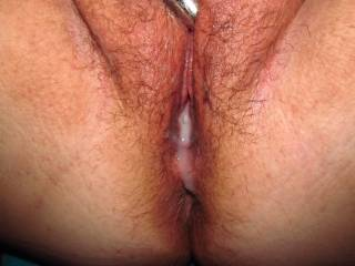 I LOVE when he fills my pussy deep full of his cum