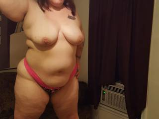 perfect let me suck your tits pull your nipples and play with your pussy so you can be ready for a long hard fucking