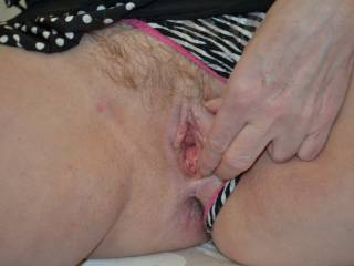 I can almost feel your warm tongue gliding over it.  Would you like a taste?