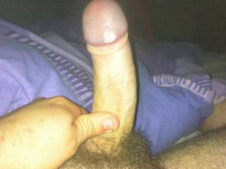 waiting for a nice tight pussy or a good set of lips ;)